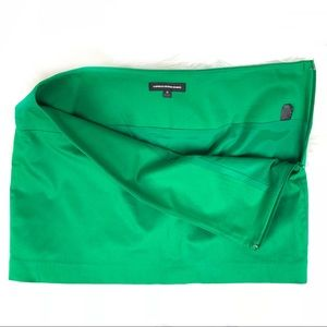 Express Design Studio green mini skirt size 10